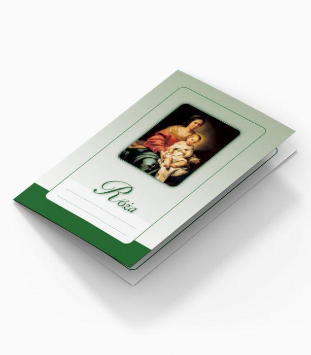Karnet dla Róży (zielony)