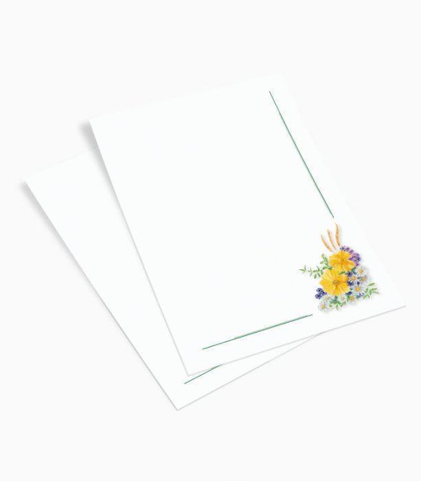 Listownik Kwiaty (KW02)