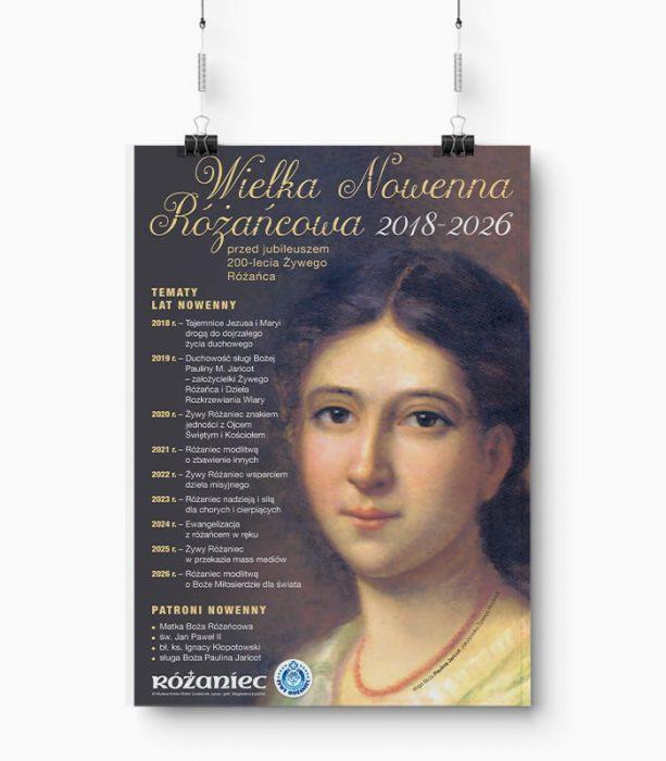 Plakat Wielka Nowenna Różańcowa 2018-2026