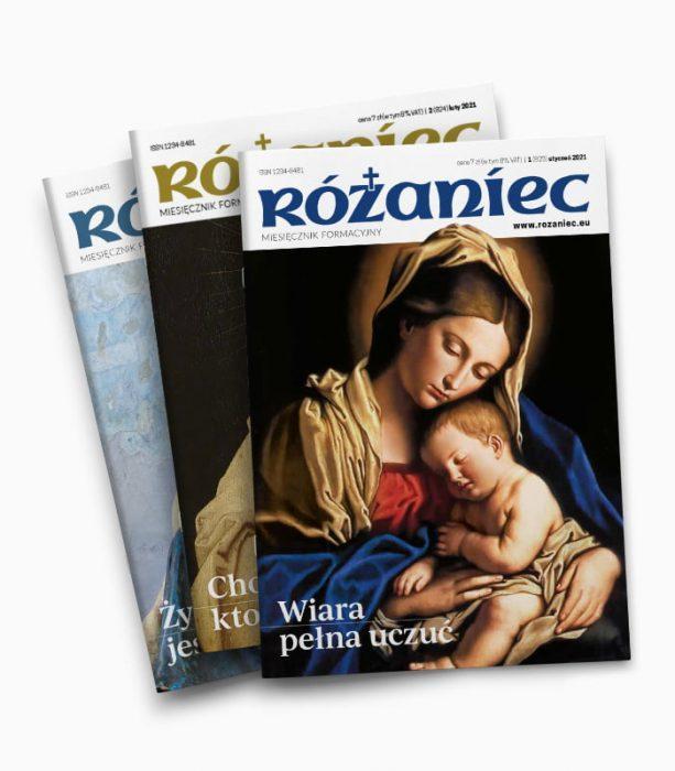 Prenumerata miesięcznika RÓŻANIEC 2021