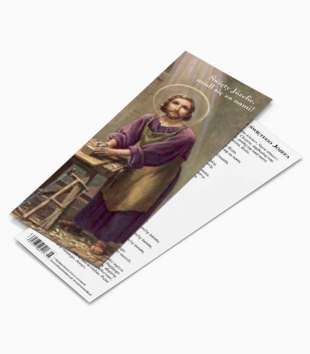 Zakładka Litania do Świętego Józefa (JZ1)