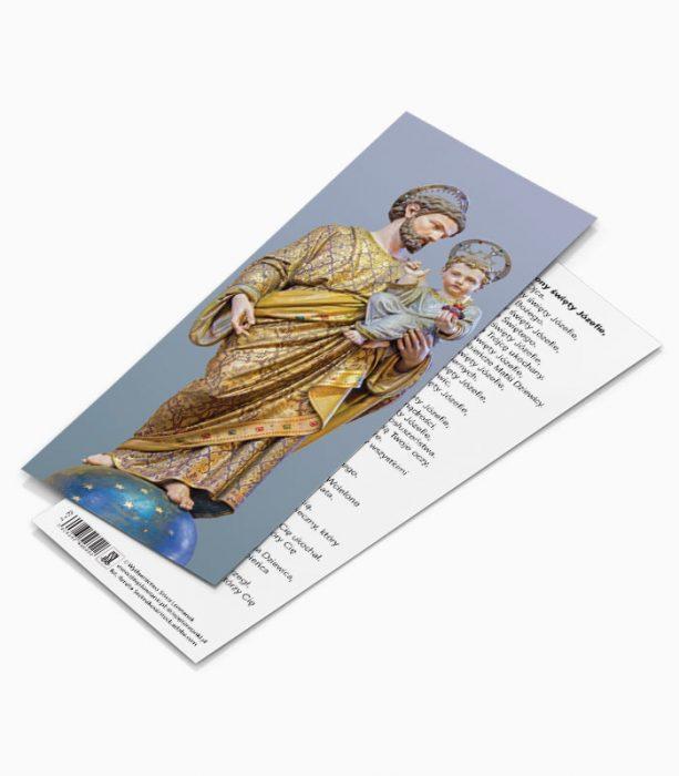 Zakładka Bądź pozdrowiony Święty Józefie (JZ2)