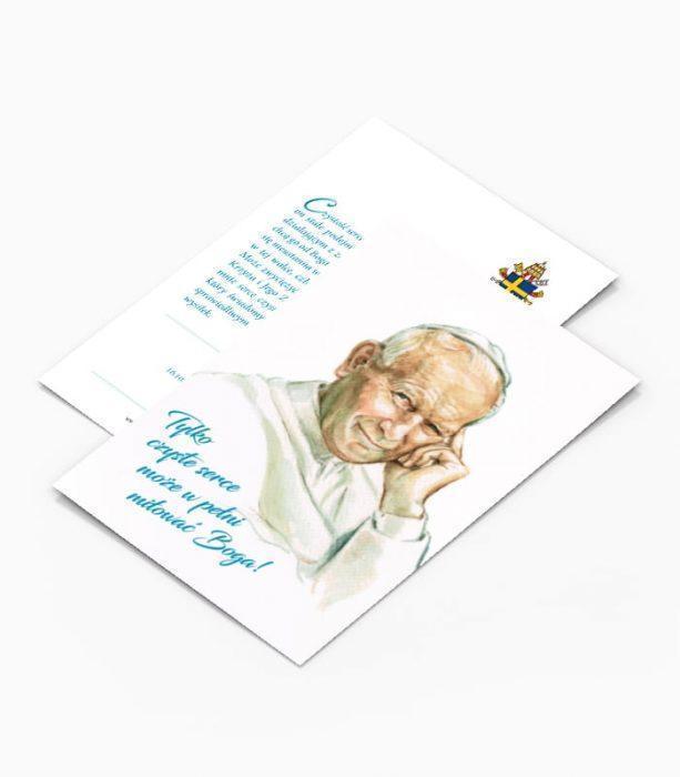 Kartka Pocztowa Jan Paweł II (K1)