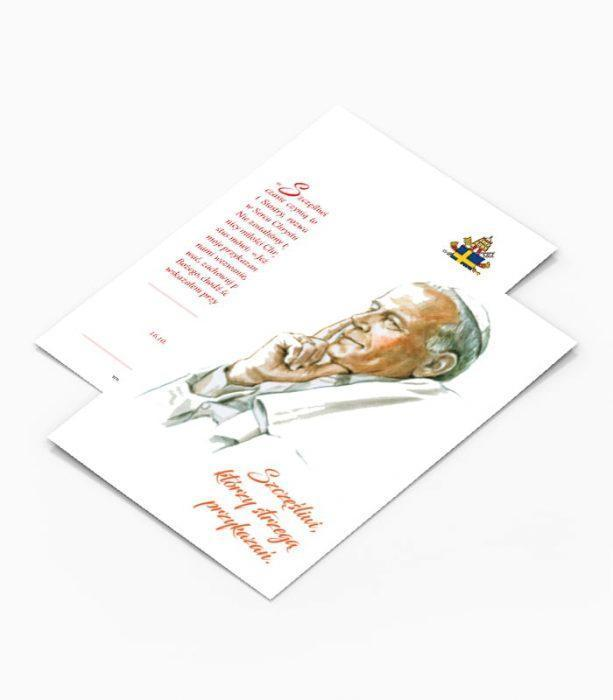 Kartka Pocztowa Jan Paweł II (K3)