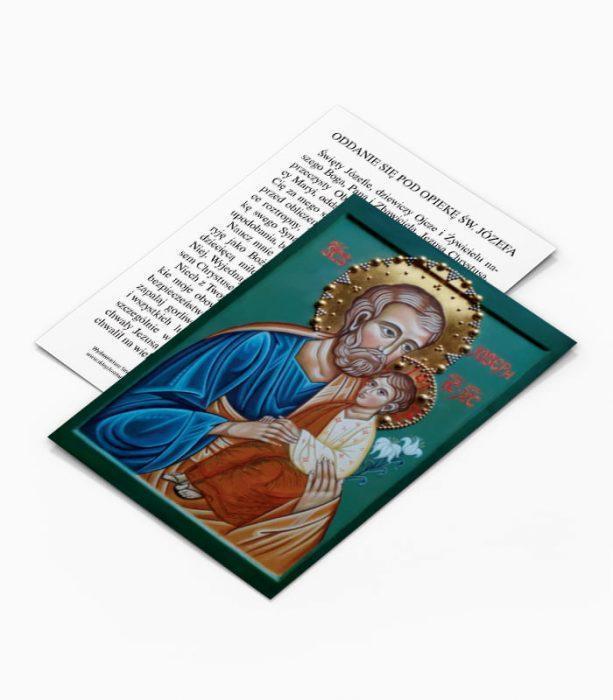 Obrazek oddanie się pod opiekę Świętego Józefa