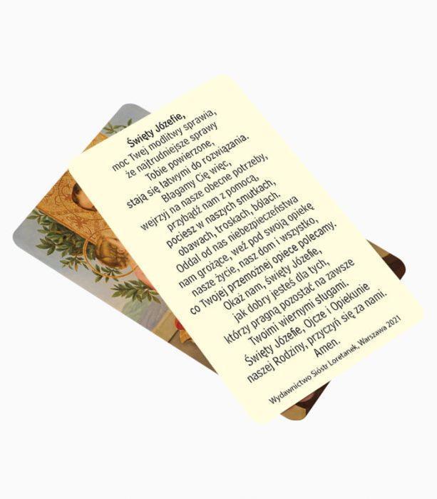 Obrazek Modlitwa oddania się Świętemu Józefowi (JO9)