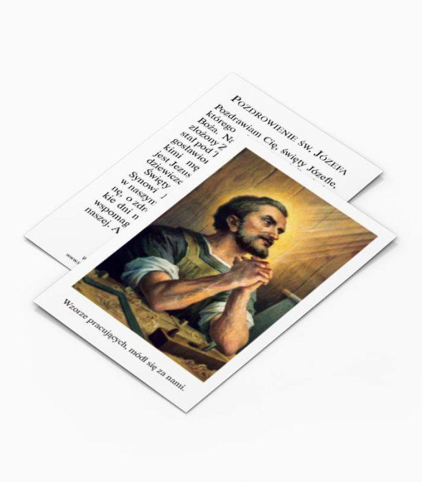 Obrazek Pozdrowienie Świętego Józefa